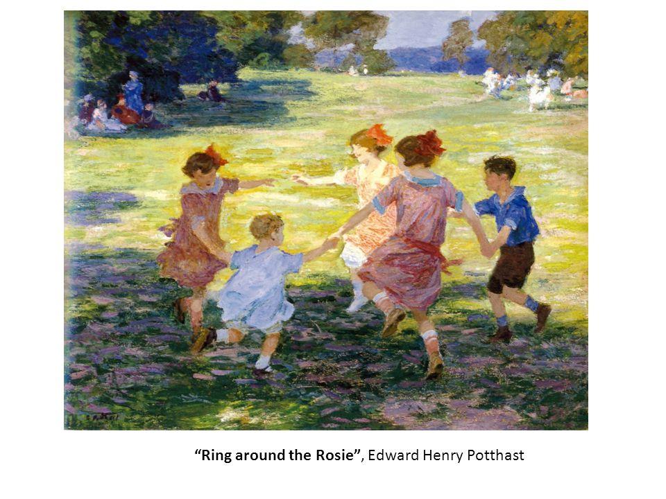 """Ring around the Rosie"", Edward Henry Potthast"