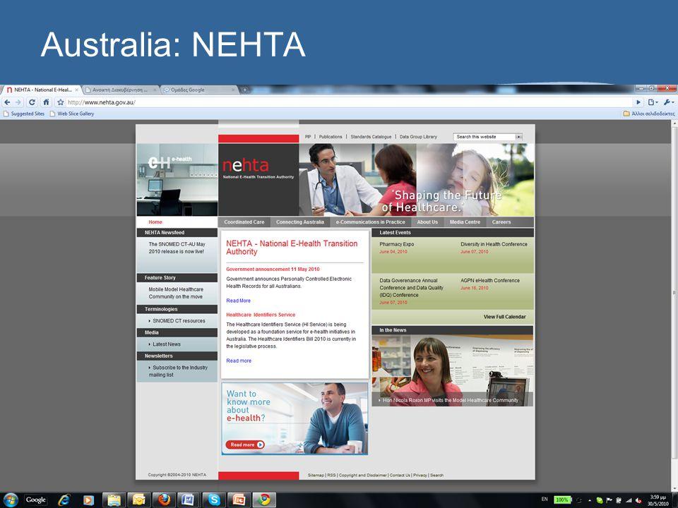 Australia: NEHTA