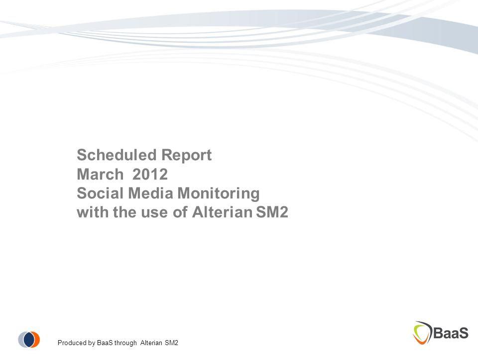 Scheduled Report Γενόσημα: Μέτρηση αντίκτυπου στα κοινωνικά δίκτυα.