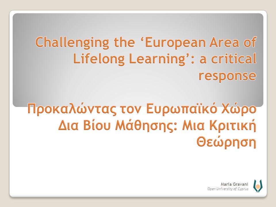 Maria Gravani Open University of Cyprus Αντλεί από το πρόσφατο βιβλίο μου: Zarifis, G.