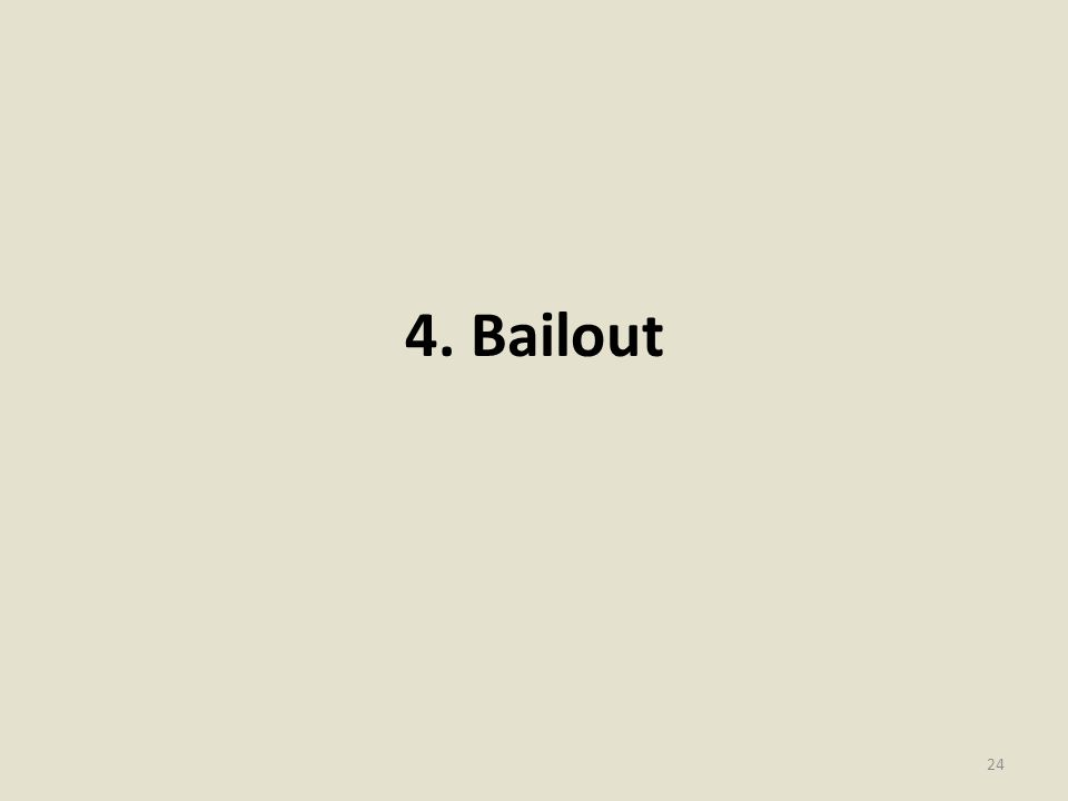 4. Bailout 24