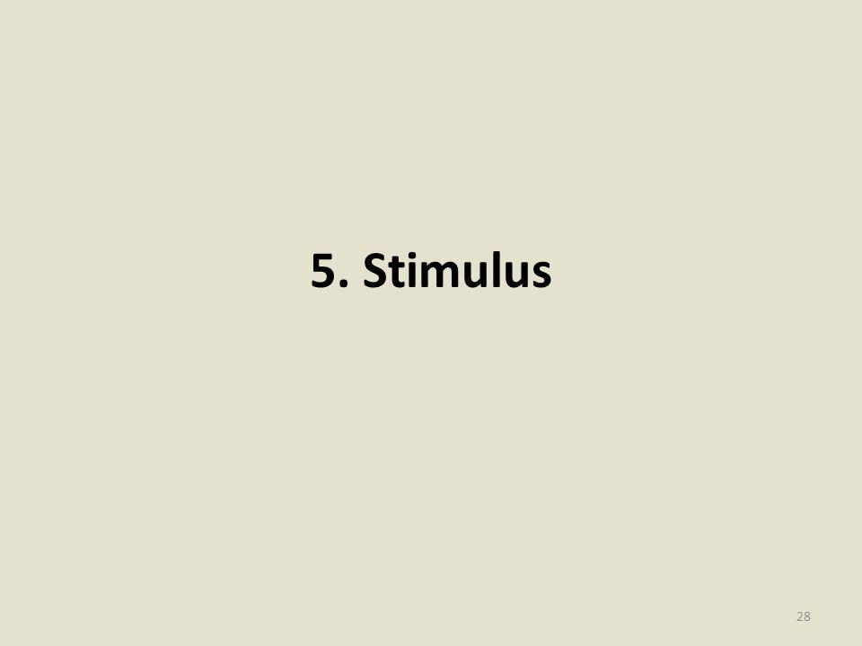 5. Stimulus 28