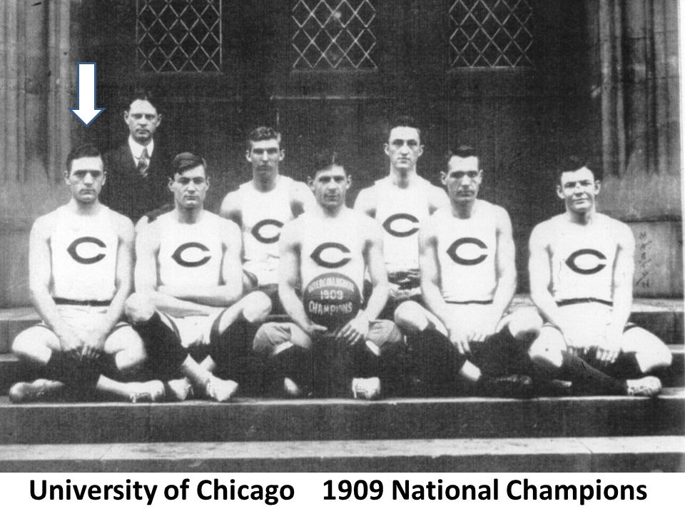 University of Chicago 1909 National Champions