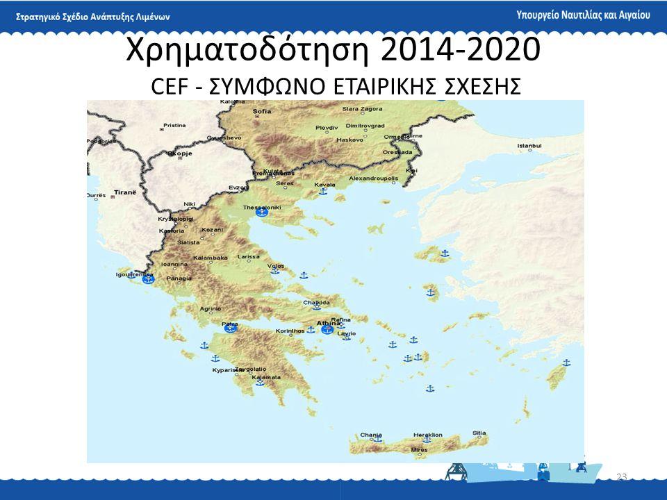 23 Χρηματοδότηση 2014-2020 CEF - ΣΥΜΦΩΝΟ ΕΤΑΙΡΙΚΗΣ ΣΧΕΣΗΣ