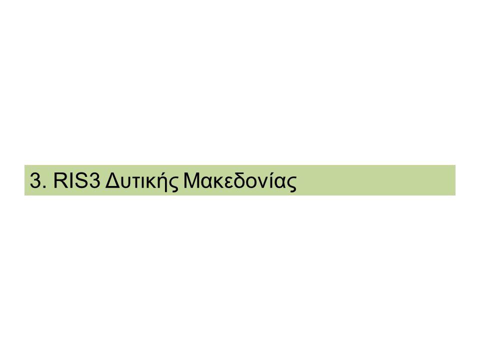 3. RIS3 Δυτικής Μακεδονίας