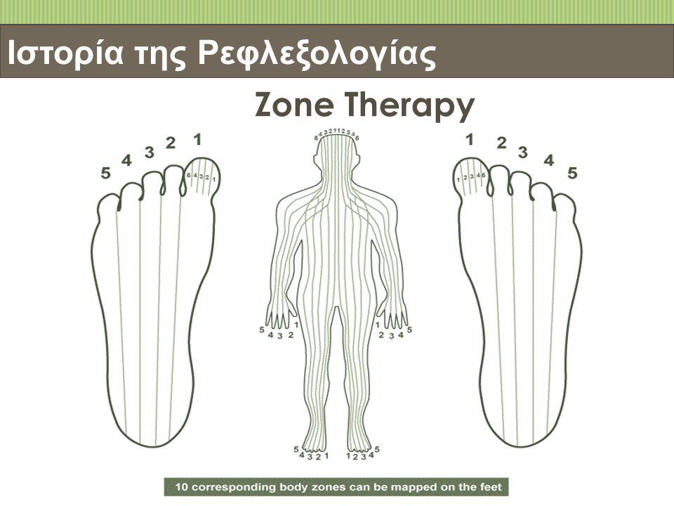 Ιστορία της Ρεφλεξολογίας Zone Therapy