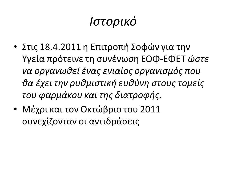 Τι άλλο να συζητήσουμε: Συγχωνεύσεις, αναδιοργάνωση κρατικών εργαστηριακών υποδομών Ενίσχυση πλαισίου ελέγχων-εξορθολογισμός Ανάπτυξη πλαισίου συμβουλευτικών υπηρεσιών- Ιδιωτικά Εργαστήρια Ποιος είναι ο ρόλος της επιστημονικής,μετρολογικής υποδομής που υπάρχει ήδη στην Ελλάδα στην ανάπτυξη και στην εισαγωγή προστιθέμενης αξίας στο τρόφιμο