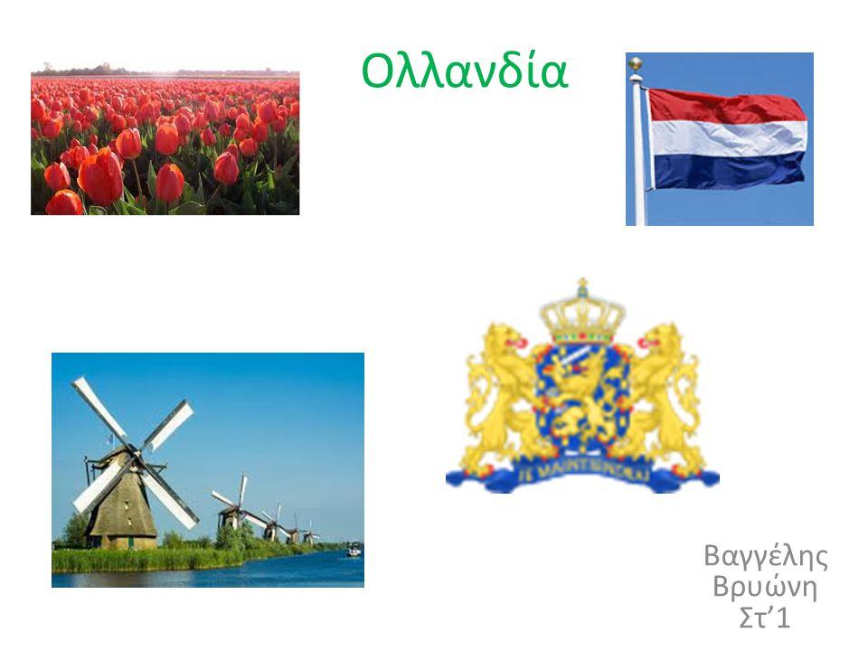 Ολλανδία Βαγγέλης Βρυώνη Στ'1