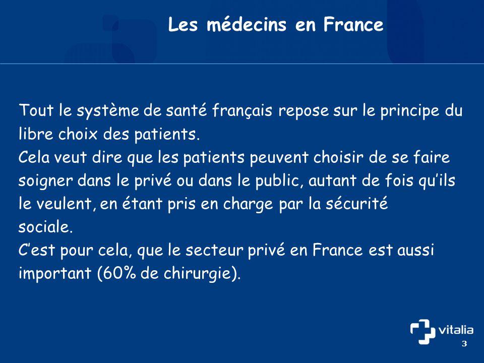 • Στη Γαλλία οι ασθενείς δικαιούνται και απολαμβάνουν υγειονομική περίθαλψη, χωρίς ουσιαστικά οικονομική επιβάρυνση, είτε απευθύνονται στο δημόσιο είτε στον ιδιωτικό τομέα.
