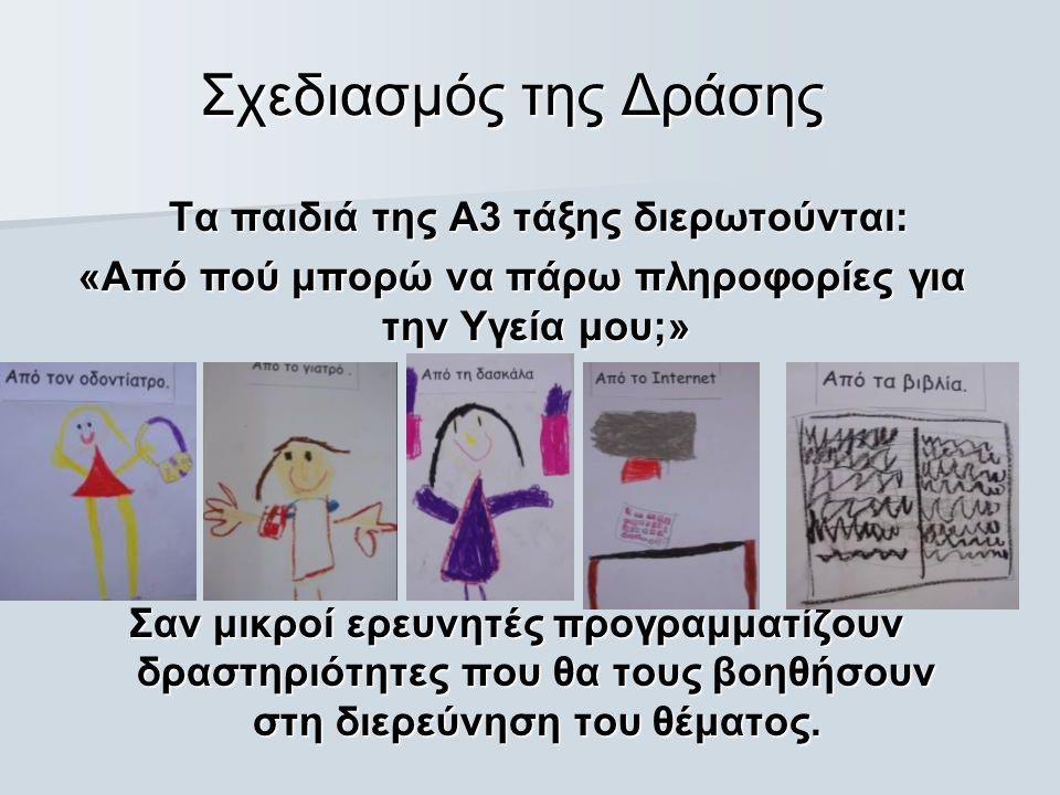 Πρόβλημα: «Τι μπορούμε να κάνουμε έτσι ώστε ο κύριος Ορφέας να γίνει ένας υγιής άνθρωπος;»  Τα παιδιά γράφουν ένα γράμμα διατυπώνοντας τις ιδέες/ εισηγήσεις τους για το πως ο κ.