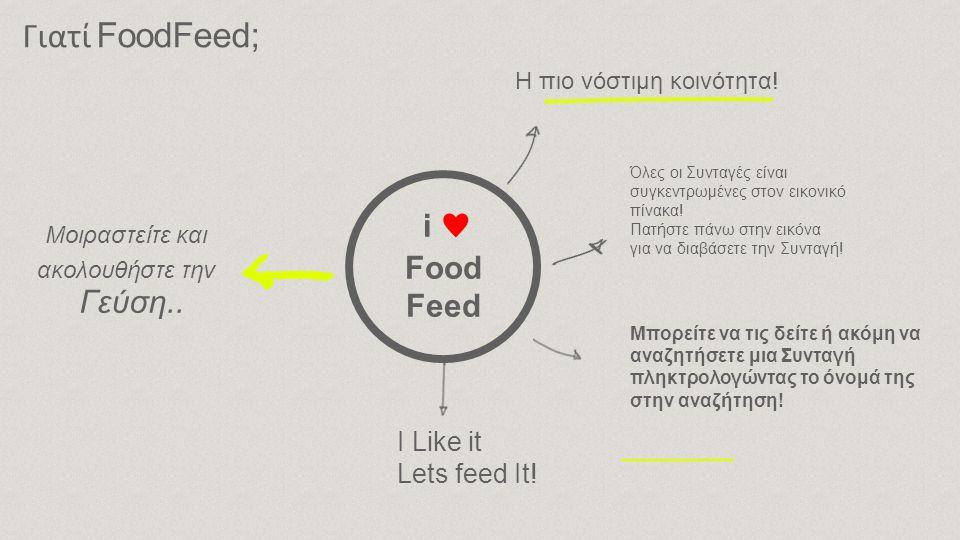 Αν κάποιος χρήστης υποβάλλει δυσφημιστικό, προσβλητικό ή οποιοδήποτε άλλο υλικό θα αποκλείεται από την κοινότητα του FoodFeed και το FoodFeed θα διατηρεί το δικαίωμα να παρέχει την διεύθυνση ΙΡ του στις αρμόδιες αρχές.