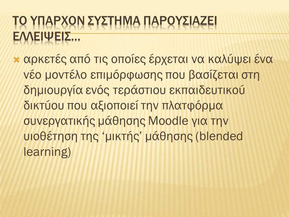  Κόκκος, Α., (2007) «Η Εκπαίδευση Ενηλίκων ως Διακριτό Θεσμικό & Επιστημονικό Πεδίο» στο δια βίου Επιστημονική επιθεώρηση για τη Δια Βίου Μάθηση ΥΠΕΠΘ ΓΕΝΙΚΗ ΓΡΑΜΜΑΤΕΙΑ ΕΚΠΑΙΔΕΥΣΗΣ ΕΝΗΛΙΚΩΝ ΑΘΗΝΑ  Λιακοπούλου, Ε., (2010) «Δίκτυο που αξιοποιεί την πλατφόρμ α συνεργατικής μάθησης Moodle για μικτ ή (blended) επιμόρφωση στο Θεσμοθετημένες και νέες μορφές επιμόρφωσης Προς αναζήτηση συνέργειας και καλών πρακτικών Υ.ΠΑΙΘ.ΠΑ  Ματθαίου, Δ., κ.α (1996) Θεσμοθετημένες Μορφές Επιμόρφωσης Π.Ι Αθήνα  Μαυρογιώργος, Γ., Επιμόρφωση Εκπαιδευτικών: Γιατί οι εκπαιδευτικοί δεν αντιμετωπίζονται ως ενήλικες διανοούμενοι; Πρακτικά Συνεδρίου Βασική Εκπαίδευση και Επιμόρφωση Εκπαιδευτικών,ΠΤΔΕ, Πανεπιστήμιο Κρήτης, Ρέθυμνο,2009 (υπό έκδοση)  Π.Ι (2009), ΠΡΟΤΑΣΗ ΓΙΑ ΤΗΝ ΕΠΙΜΟΡΦΩΣΗ ΤΩΝ ΕΚΠΑΙΔΕΥΤΙΚΩΝ