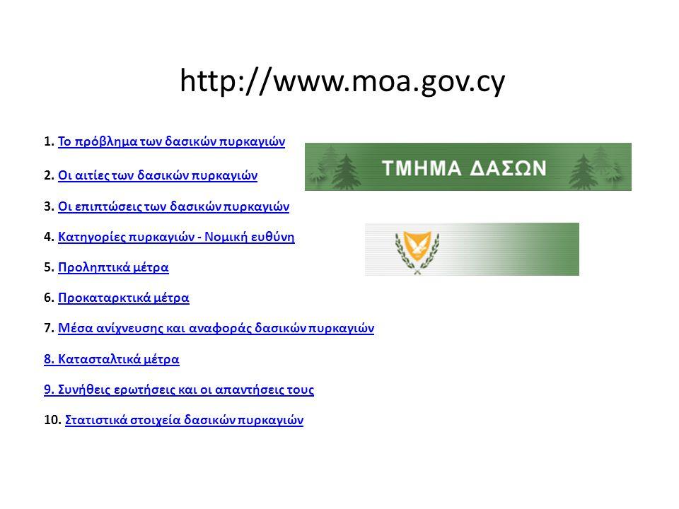 ΥΠΟΥΡΓΕΙΟ ΕΣΩΤΕΡΙΚΩΝ ΓΕΝΙΚΗ ΓΡΑΜΜΑΤΕΙΑ ΠΟΛΙΤΙΚΗΣ ΠΡΟΣΤΑΣΙΑΣ www.civilprotection.gr http://www.gscp.gr ΔΑΣΙΚΕΣ ΠΥΡΚΑΓΙΕΣ ΕΝΗΜΕΡΩΘΕΙΤΕ ΕΓΚΑΙΡΑ ΠΡΟΣΤΑΤΕΥΤΕΙΤΕ ΑΠΟΤΕΛΕΣΜΑΤΙΚΑ