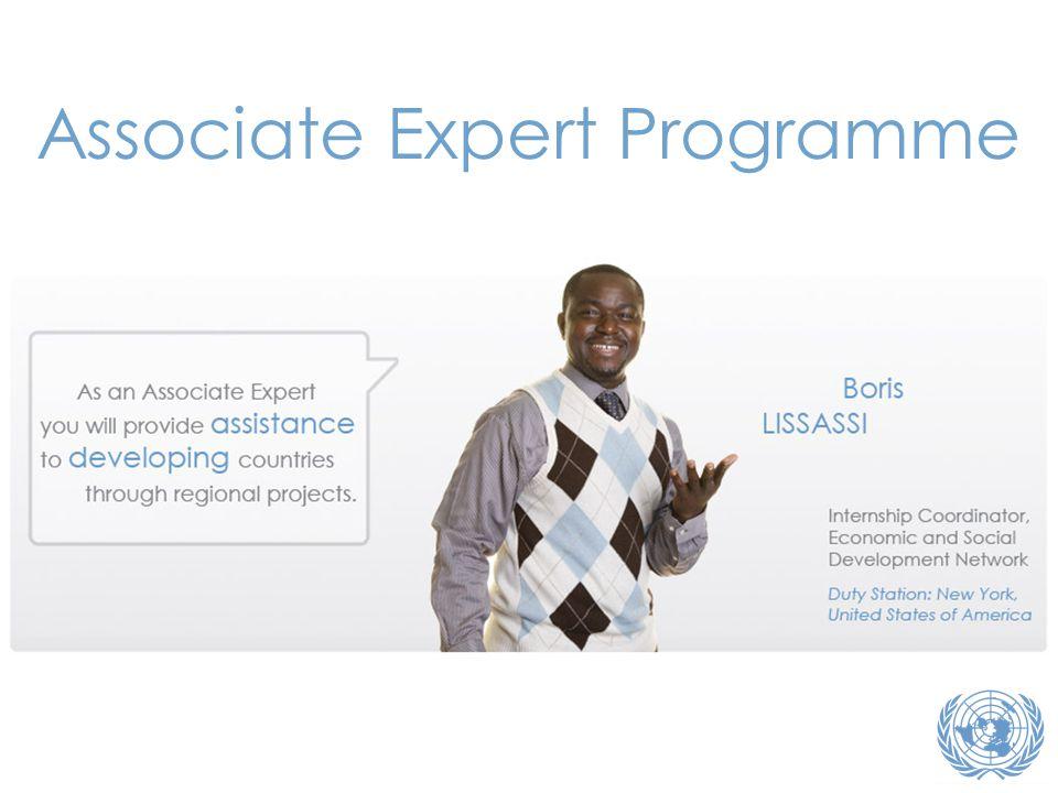 Associate Expert Programme