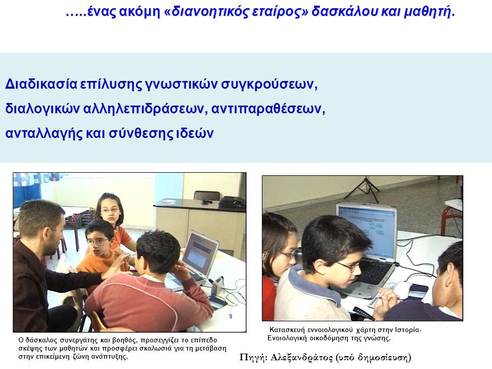 Συνεργατική μάθηση με κατάλληλο λογισμικό:  Αύξηση της πιθανότητας, ποσότητας και ποιότητας καθημερινής επιτυχίας στο σχολείο, καθώς και της ικανότητας τεκμηριωμένης μάθησης  αξιοποίηση προηγούμενων γνώσεων στην επίλυση προβλημάτων.
