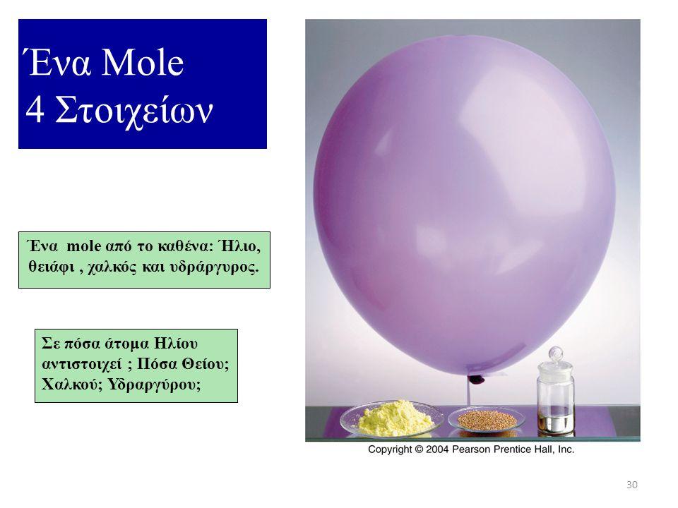 29 Τo Mol 4141 ντουζίνα αυγά = 12 αυγά 4141 mol αυγά = 6.02 X 10 23 αυγά 4141 ντουζίνα μπύρες = 12 μπύρες 4141 mol μπύρες = 6.02 X 10 23 μπύρες 4141 ν