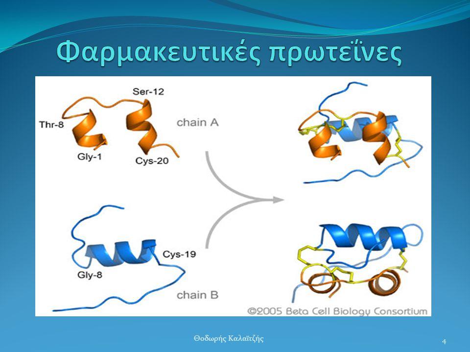  Παλιότερα: Μικρές ποσότητες – Ακριβές – Όχι πλήρως κατανοητή δράση  Σήμερα: Κλωνοποίηση γονιδίων ανθρώπου για πάνω από 300 τέτοιες πρωτεΐνες (ινσου