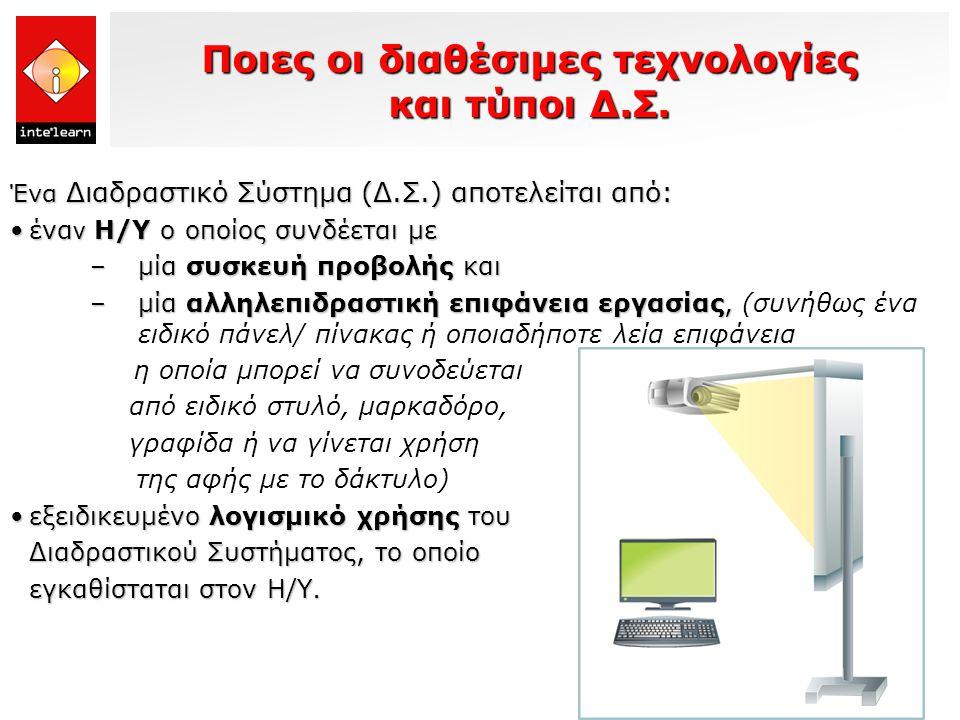 Ποιες οι διαθέσιμες τεχνολογίες και τύποι Δ.Σ.