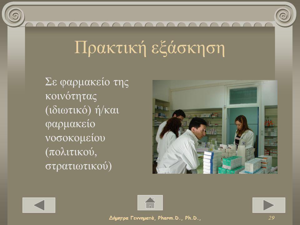 Δήμητρα Γεννηματά, Pharm.D., Ph.D., 28 Χωρίς … πτυχίο !!.