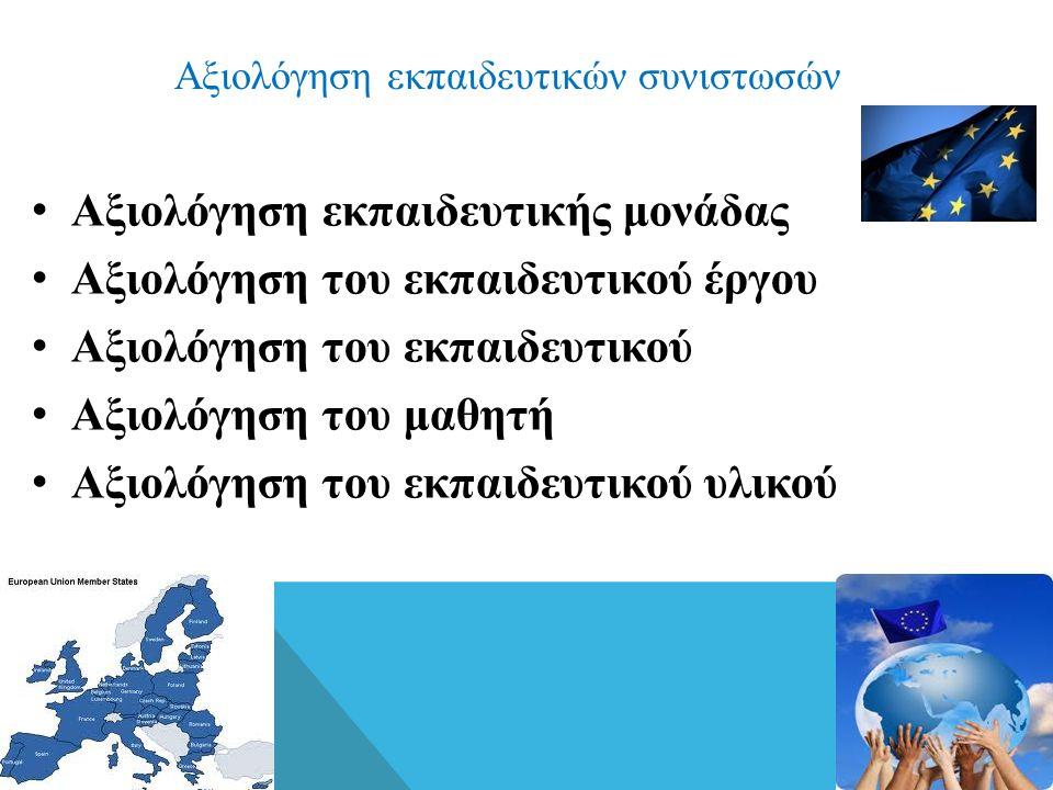 Συνύπαρξη διαδικασιών εσωτερικής και εξωτερικής αξιολόγησης Οι χώρες της Ε.Ε.