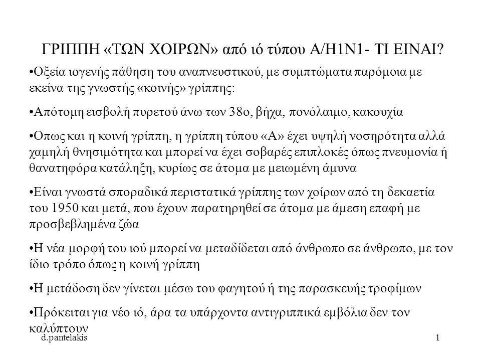 d.pantelakis2 Ο ΑΝΘΡΩΠΟΣ ΜΟΛΥΝΕΤΑΙ ΑΠΟ ΧΟΙΡΙΝΟΥΣ ΙΟΥΣ.