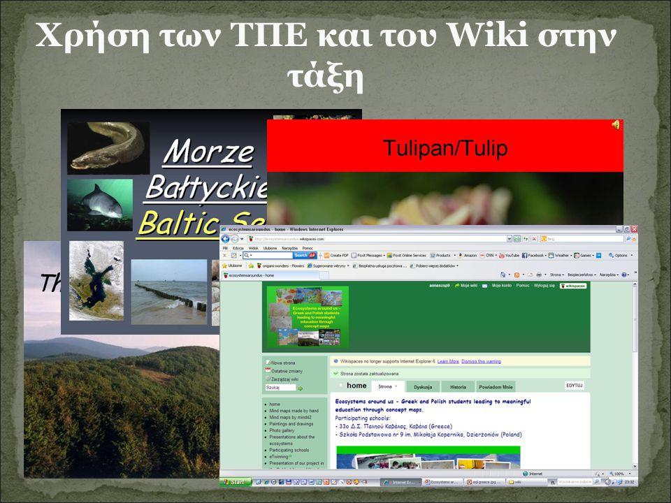 Χρήση των ΤΠΕ και του Wiki στην τάξη