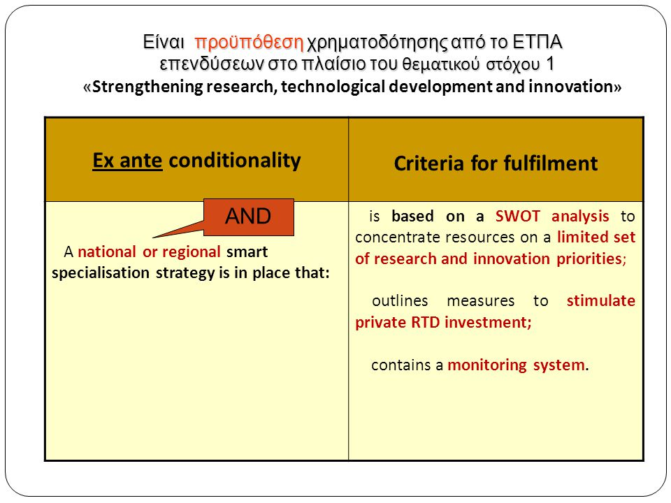 H Έξυπνη Εξειδίκευση αποτελεί μια προσέγγιση με έντονη χωρική διάσταση (place-based approach) με την έννοια ότι βασίζεται σε πόρους και «κεφάλαια» που βρίσκονται συγκεντρωμένα σε συγκεκριμένες περιοχές (χώρες ή περιφέρειες).