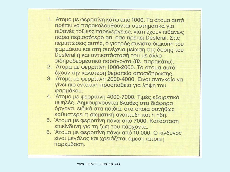 NTINA ΠΟΛΙΤΗ : ΘΕΡΑΠΕΙΑ Μ.Α