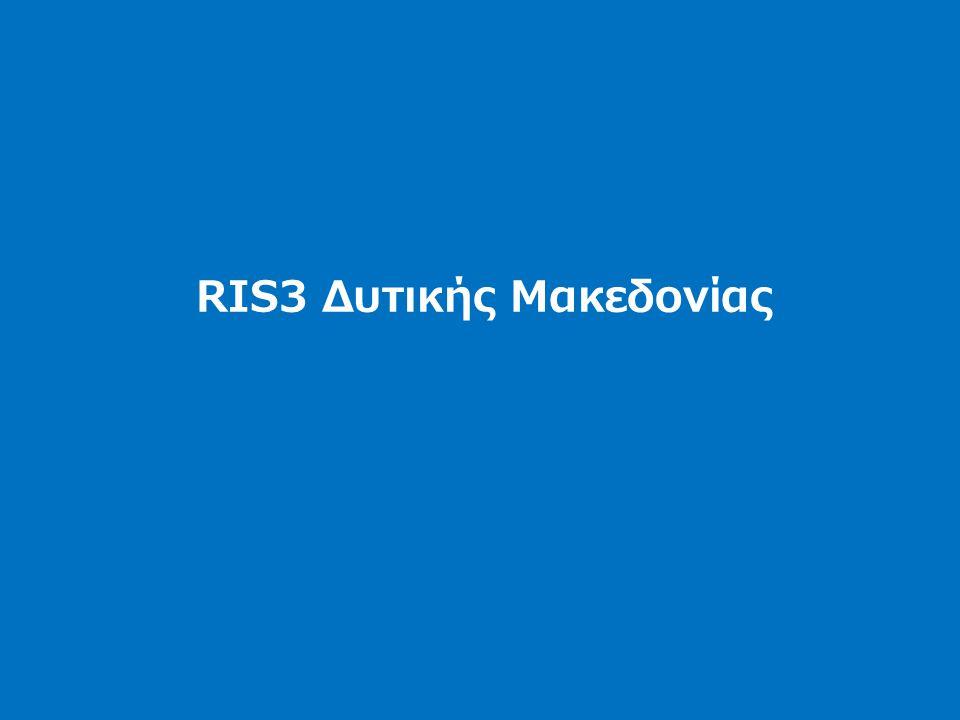 RIS3 Δυτικής Μακεδονίας