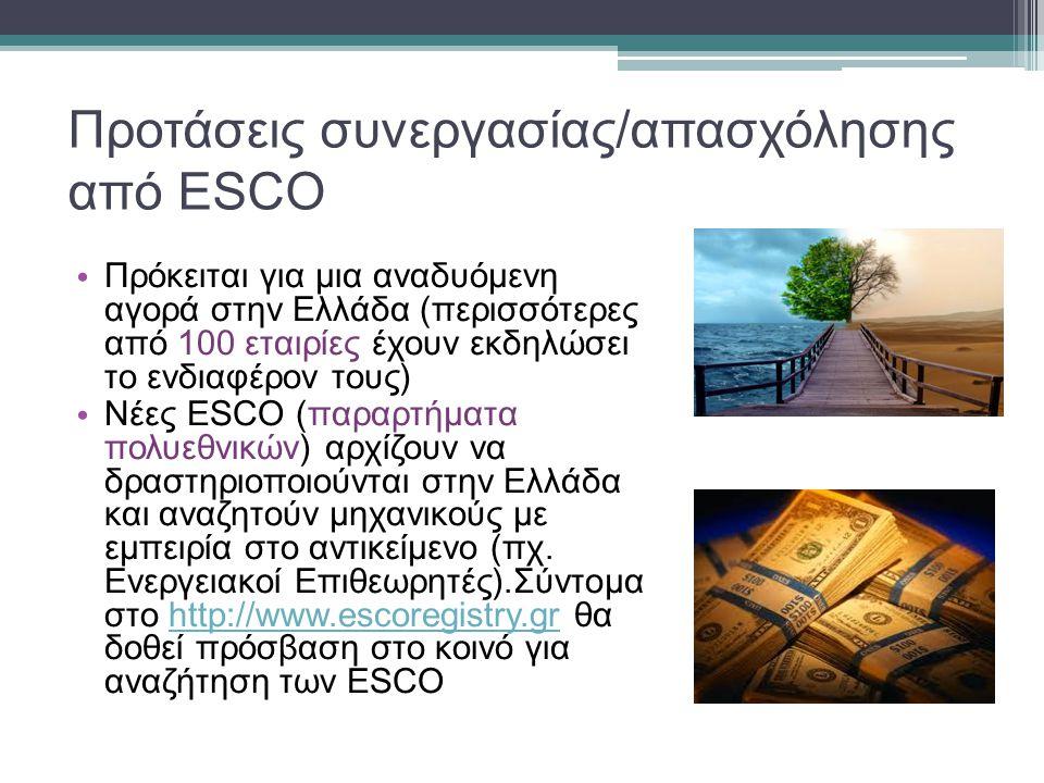 Υλοποίηση Πιλοτικού Έργου με ESCO στην Ελλάδα • Στρατηγικό έργο MARIE: «Επανεξέταση της Ενεργειακής Απόδοσης των Κτιρίων στη Μεσόγειο» • Πρόγραμμα MED της Ευρωπαϊκής Ένωσης • Εταίρος υπεύθυνος για την υλοποίηση του πιλοτικού: ΑΝ.ΚΟ.