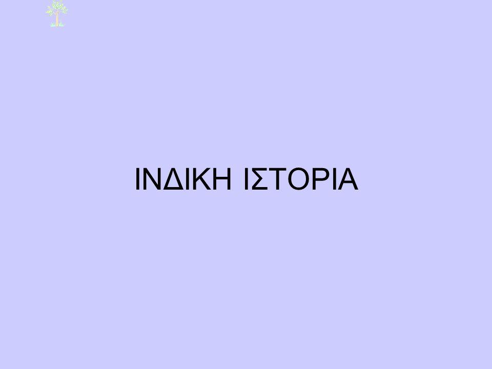 ΙΝΔΙΚΗ ΙΣΤΟΡΙΑ
