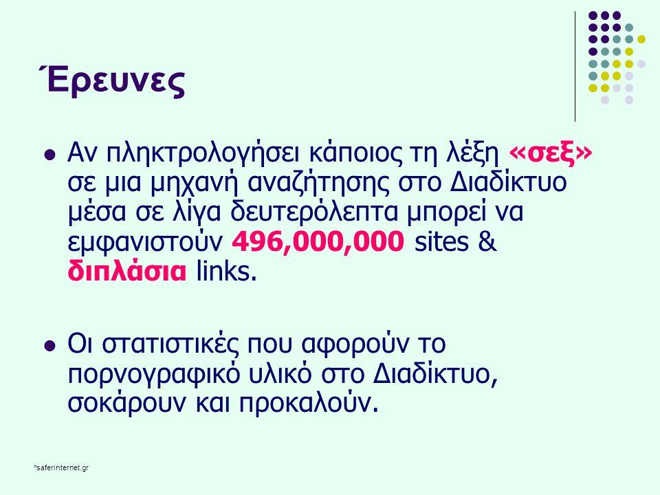 Έρευνες στην Ελλάδα Έρευνα Μ.Κ.Ο.ΝΕΟΙ  Η ΜΚΟ « Ν.Ε.Ο.Ι.