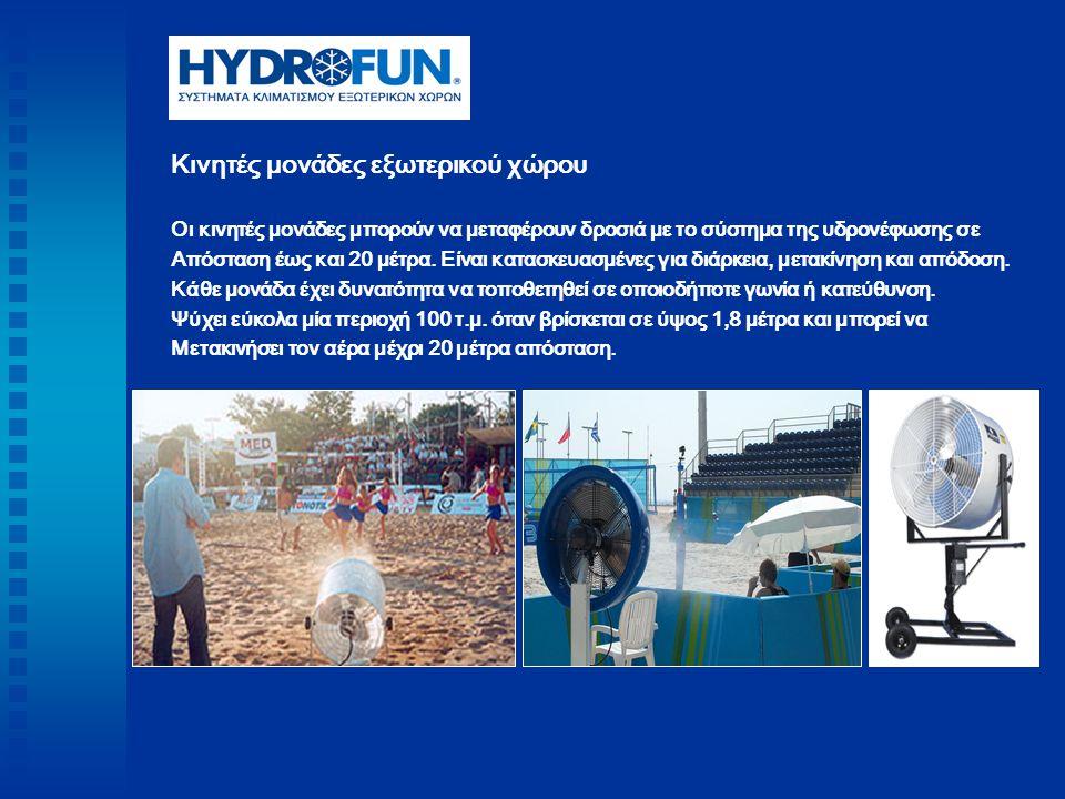 Τhe WaterGate – Είδη κατασκευών Η κατασκευή αυτή μπορεί να προωθήσει το προϊόν της εταιρείας του διαφημιζόμενου σε εκδηλώσεις όπως εγκαίνια καταστημάτων, sport events, διαγωνισμούς.