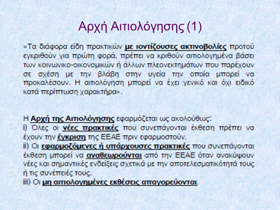 Αρχή Αιτιολόγησης (1)