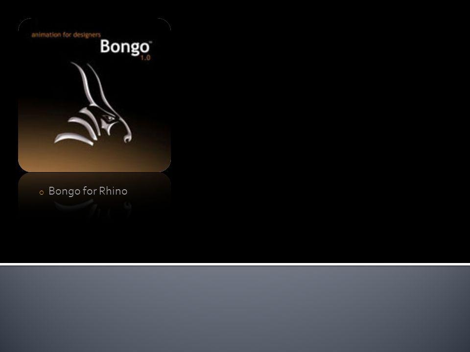 Rhinoceros 4.0 plug–ins