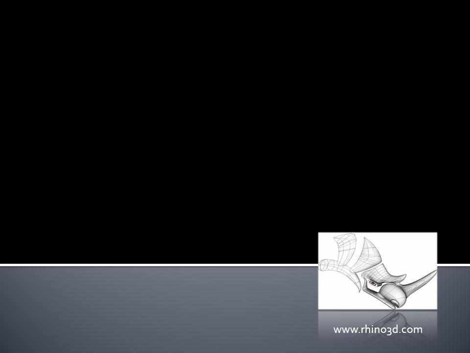  Το Rhinoceros 4.0 είναι από τα πιο γνωστά προγράμματα τρισδιάστατης ψηφιακής μοντελοποίησης. Χρησιμοποιείται ως εργαλείο CAD (Computer Aided Design)