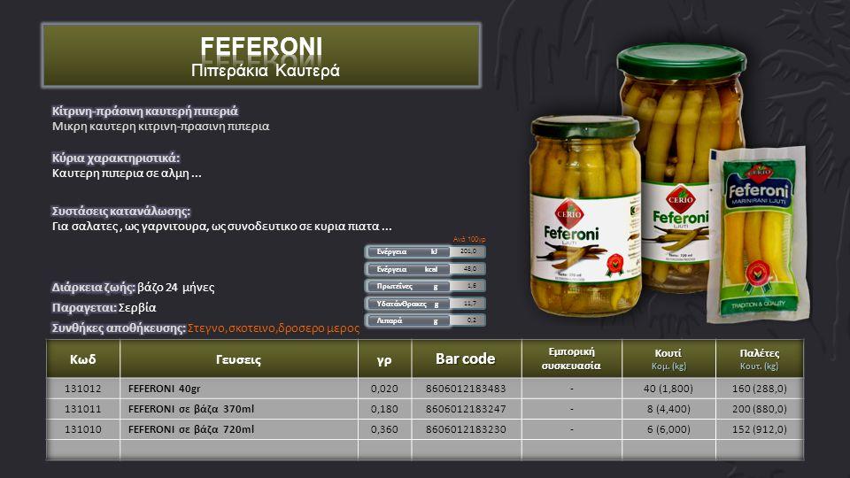 1,2 ΥδατάνΘρακες g 3,1 Πρωτεΐνες g 23,0 Ενέργεια kcal 96,3 Ενέργεια kJ 0,6 Λιπαρά g Ανά 100γρ