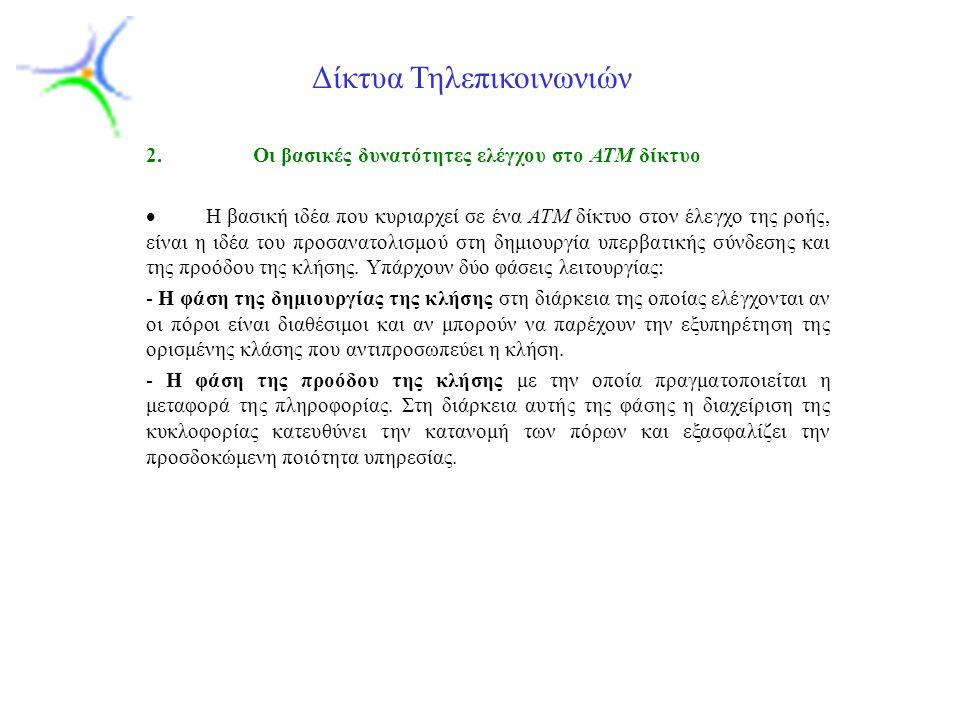 Slide 4 Δίκτυα Τηλεπικοινωνιών 2.