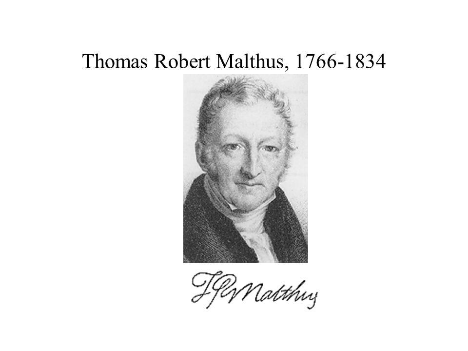 Thomas Robert Malthus, 1766-1834