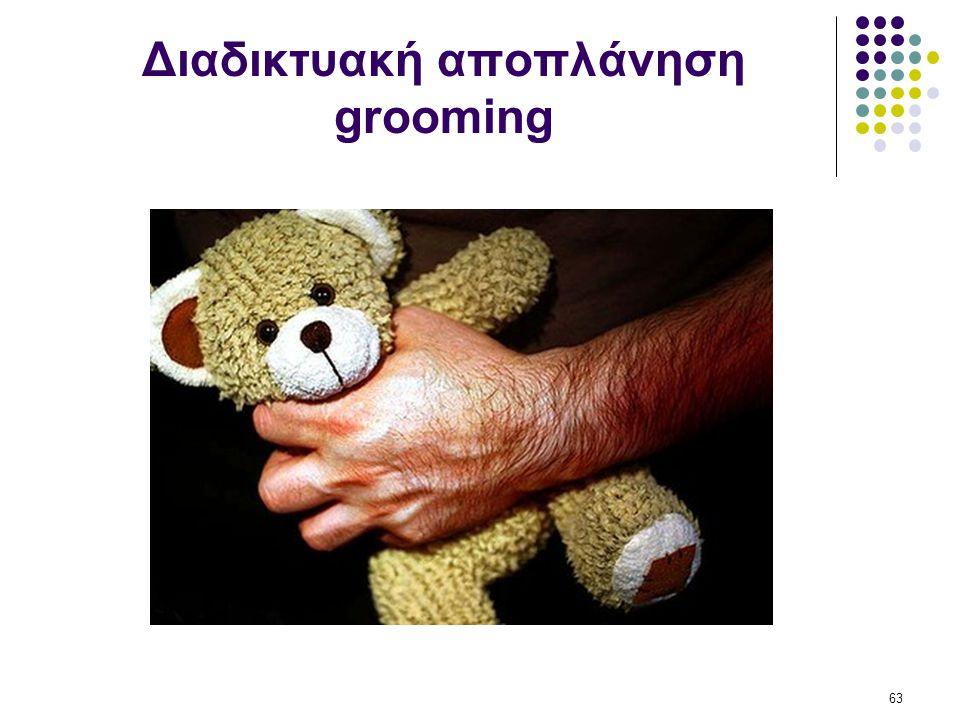 Διαδικτυακή αποπλάνηση grooming 63