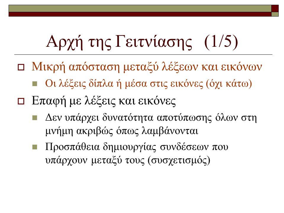 Αρχή της συνεκτικότητας (10/10)