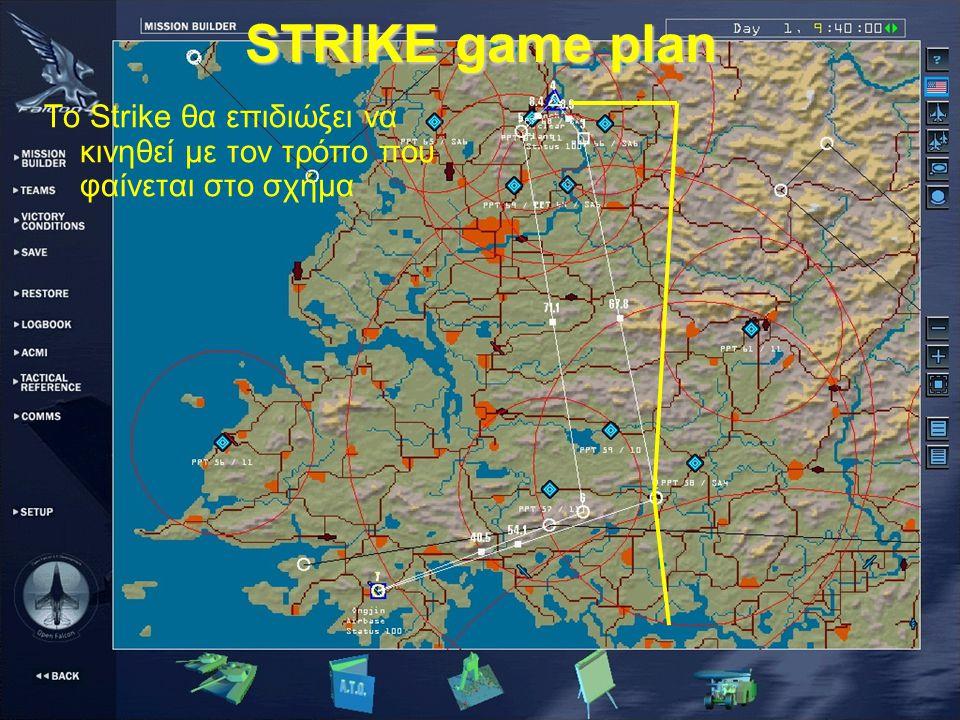 STRIKE στοχοποίηση #2 αφος#4 αφος#3 αφος Το #1 αφος στοχοποιεί την ευρύτερη περιοχή του στόχου μιας και φέρει JSOW.