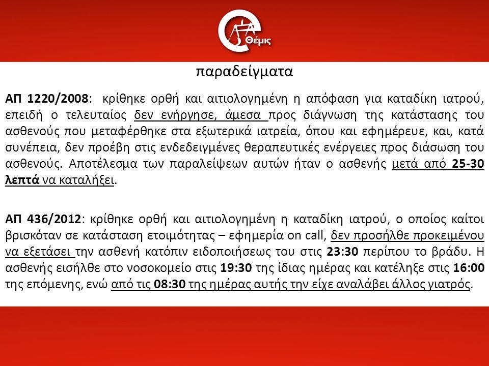 Δημήτρης Χρ. Αναστασόπουλος Ο αιτιώδης σύνδεσμος στην ποινική ιατρική ευθύνη