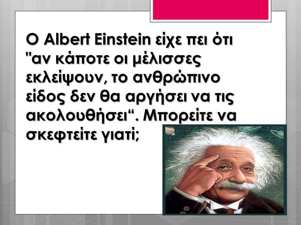 Ο Albert Einstein είχε πει ότι
