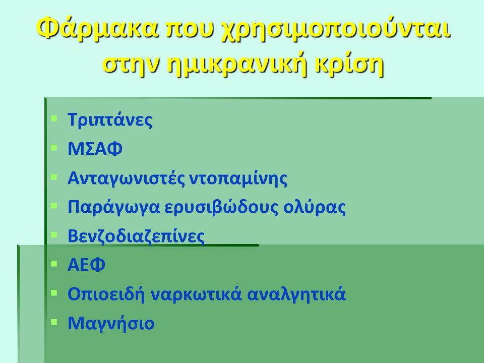 3 μορφές θεραπείας:   Συμπτωματική θεραπεία της ημικρανικής κρίσης   Προληπτική θεραπεία   Εναλλακτικές, ιατρικά αποδεκτές θεραπείες ( biofeedba
