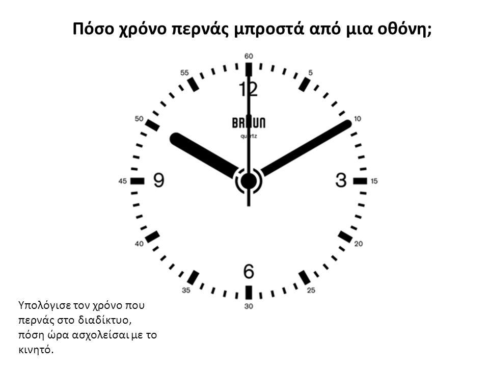 Πόσο χρόνο περνάς μπροστά από μια οθόνη; Υπολόγισε τον χρόνο που περνάς στο διαδίκτυο, πόση ώρα ασχολείσαι με το κινητό.