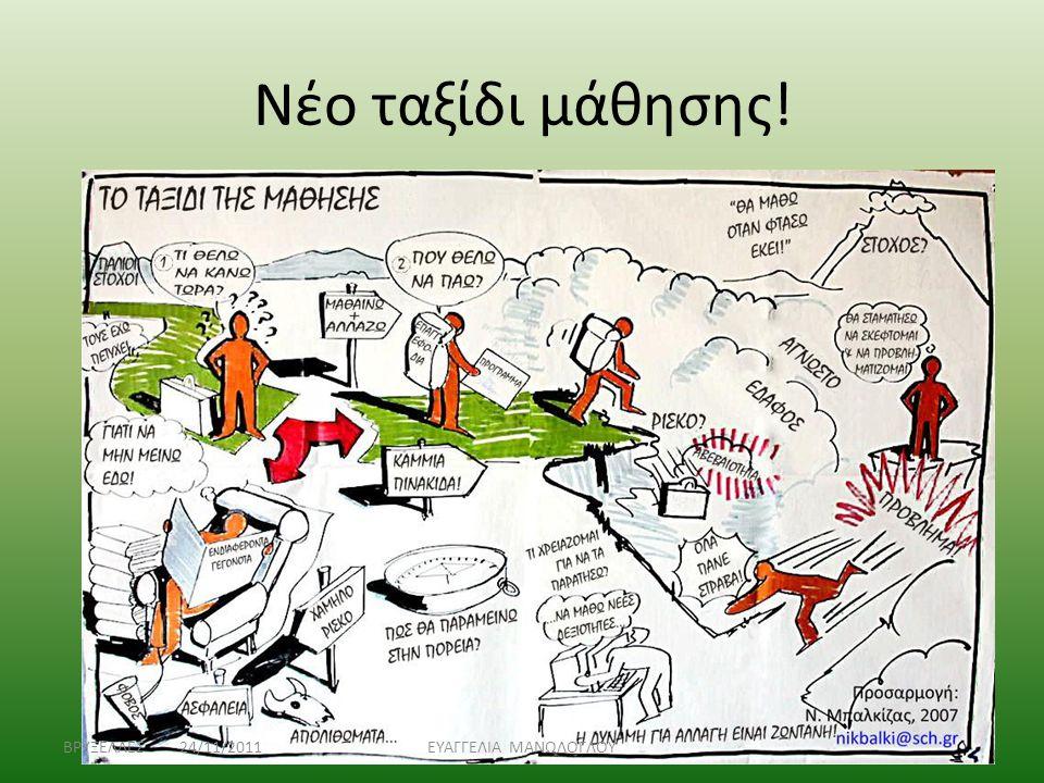 Νέο ταξίδι μάθησης! ΒΡΥΞΕΛΛΕΣ 24/11/2011ΕΥΑΓΓΕΛΙΑ ΜΑΝΩΛΟΓΛΟΥ