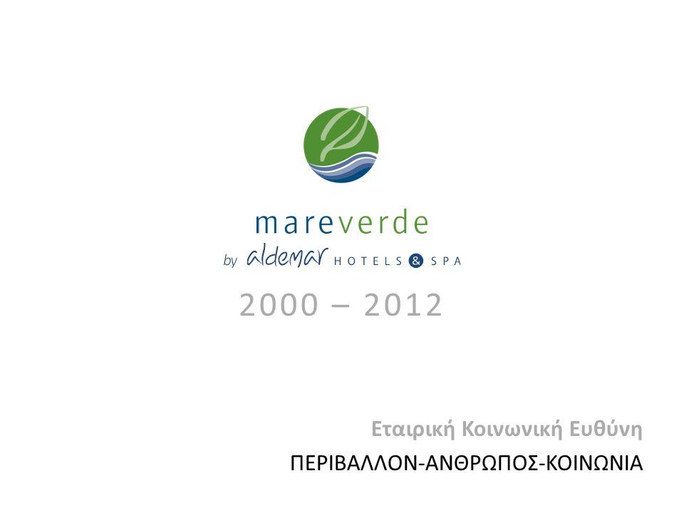 2000 – 2012 Εταιρική Κοινωνική Ευθύνη ΠΕΡΙΒΑΛΛΟΝ-ΑΝΘΡΩΠΟΣ-ΚΟΙΝΩΝΙΑ