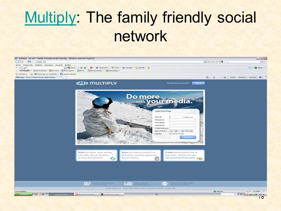 18 Multiply: The family friendly social network
