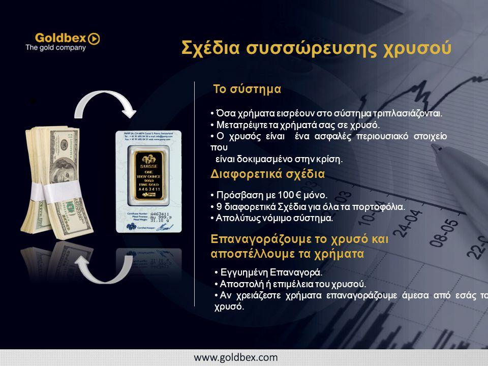 • • Όσα χρήματα εισρέουν στο σύστημα τριπλασιάζονται.